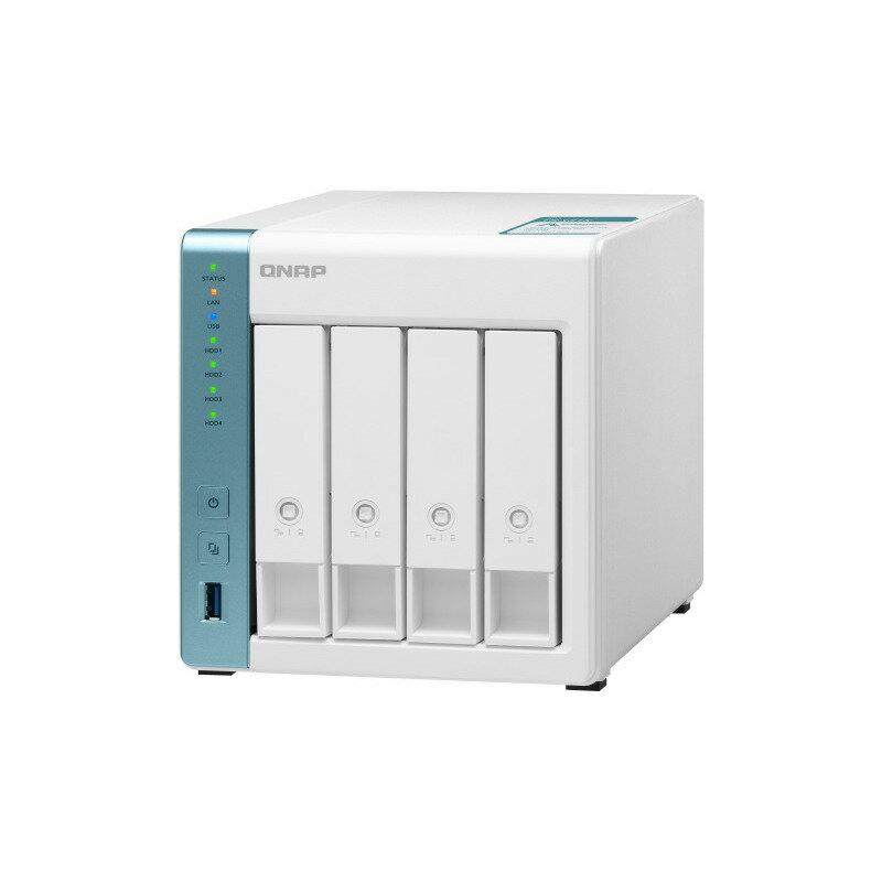 外付けドライブ・ストレージ, ドライブケース  4NAS (AnnapurnaLabs an Amazon company Alpine AL-214 4-core 1.7GHz) QNAP () TS-431K
