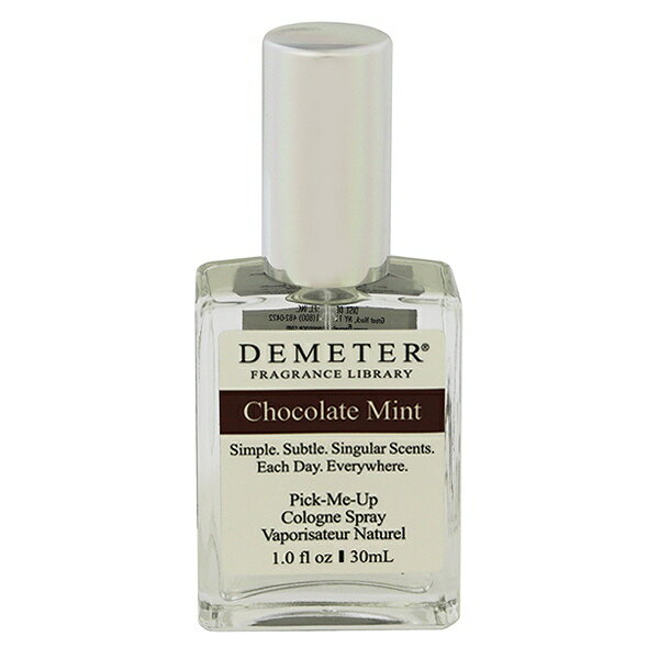 美容・コスメ・香水, 香水・フレグランス  30ml ::DEMETER CHOCOLATE MINT PICK ME UP COLOGNE SPRAY