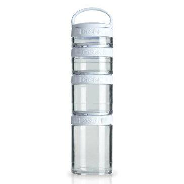 【ブレンダーボトル】 ブレンダーボトル ゴースタック スターター4パック [カラー:ホワイト] #BBGSS4P-WT 【スポーツ・アウトドア:アウトドア:水筒・ボトル】【BLENDER BOTTLE Blender Bottle GoStak Starter 4Pack】