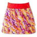 【エレッセ】 ツアースカート(P) レディーステニスウェア [サイズ:S] [カラー:パッションレッドプリント] #EW29101P-PP 【スポーツ・アウトドア:テニス:レディースウェア:スカート・スコート】【ELLESSE Tour Skirt(P)(Womens)】