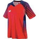 【バタフライ】 ネオルド・シャツ [サイズ:M] [カラー:レッド] #45450-006 【スポーツ・アウトドア:卓球:ウェア:メンズウェア:シャツ】【BUTTERFLY】