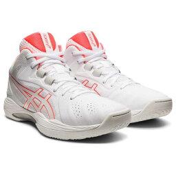 【アシックス】 ゲルフープ V13 バスケットボールシューズ [サイズ:24.0cm] [カラー:ホワイト×フラッシュコーラル] #1063A035-103 【スポーツ・アウトドア:バスケットボール:競技用シューズ:メンズ競技用シューズ】【ASICS GELHOOP V13】