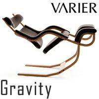 ヴァリエールグラビティバランスチェア座面:ブラック/木部:ナチュラルバリエールグラヴィティVARIERGravityBalanceChair