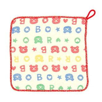 流行與迴圈毛巾毛巾洗 6 重紗布彩虹熊流行今毛巾在日本綁毛巾公園慶祝