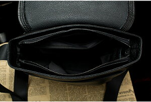 新品天然本革レザーメンズハンドバッグ牛革ショルダーバッグIpad鞄斜め掛けP27Mar15