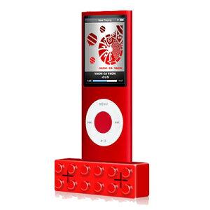 【祝!5000個完売!!】【送料無料・即納OK】キュートなレゴ風iPod用ブロックスピーカー当店人気N...