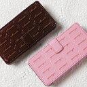 送料無料 メール便【iPhone5c専用 手帳型ケース】Sweets Case