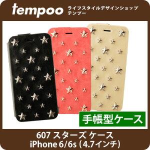 【iPhone6/iPhone6s専用 手帳型ケース】mononoff 607 Star's Case for iPhone6/iPhone6s 607 スターズケース for iPhone6/iPhone6s【_アイフォン_iPhone6/iPhone6s__ケース_スタッズ_手帳型_レザー_mononoff_カバー_おしゃれ_かわいい_caseの通販のテンプー iPhone6s】