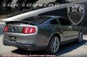 05-12 フォード マスタング BLK ABS リア ウィンドウ ルーバー E&G 1