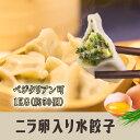 韭菜卵水餃子(卵入りニラ)1kg(素食可) 水ギョーザ・韮ギ