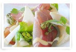 生ハムの山菜レシピ
