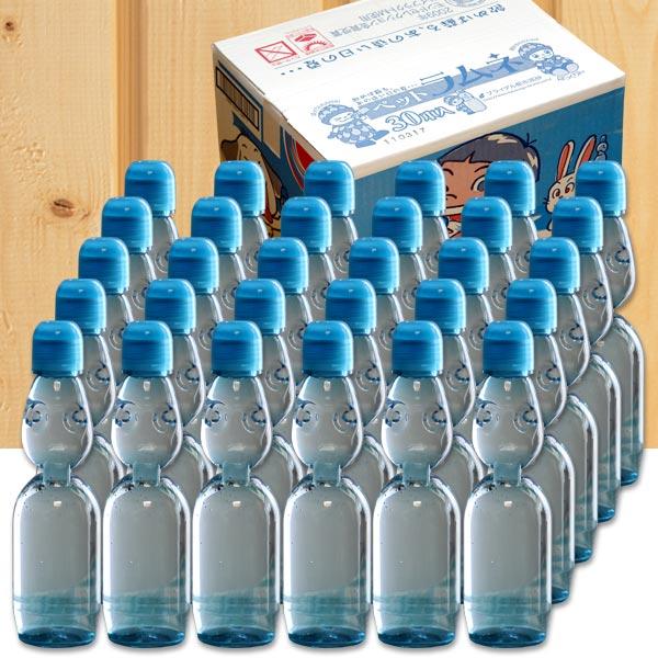 送料無料 ラムネ 飲料 ジュース ペットラムネ ペットボトル ビー玉 炭酸飲料 230ml 30本入り 日本製
