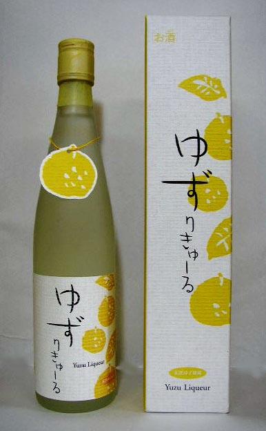 ゆずりきゅーる 7度 500ml (リキュール) 壱岐の蔵酒造 株式会社 長崎県