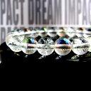 4月誕生石 水晶 クラック水晶 夢が現実になる?! 夢具現化装置 DREAM IMPACT ブレスレット ドリームインパクト パワーストーン 天然石 開運祈願 メンズ レディース 風水グッズの商品画像