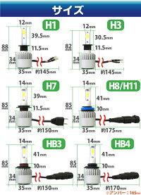 12VLEDヘッドライトH1/H3/H7/H8/H11/HB3/HB424W【bridgelux製LED】LEDヘッドライトledヘッドライト車検対応LEDヘッドライト12V24V一体型LEDLEDヘッドランプ