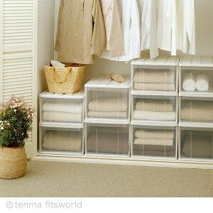 ◆クーポン対象商品◆たっぷり収納ケース66Lホワイト収納ケースプラスチック引き出し衣装ケースクローゼットクローゼット収納収納ボックス