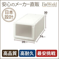 【メーカー直販】収納ケースフィッツユニットケース(L)3930