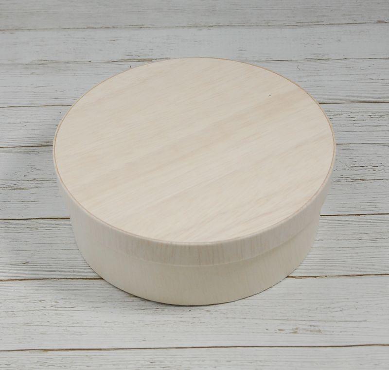 エコウッド 容器 FLR-05B 木ふたタイプ 木 お弁当箱直径130×高さ45ミリ 清潔感 使いやすい 白木 オーガニック 弁当 お菓子 チーズケーキ 雑貨 にもおすすめ ファルカタ