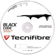 【送料無料】テクニファイバーTECNIFIBREブラックコードBLACKCODE【テニスガット(ロールガット200m)】