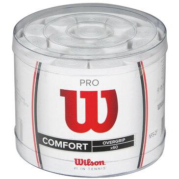 ウィルソン プロオーバーグリップテープ 白 60本入りwilson 60 surgrips pro overgrip