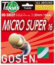 ゴーセン オージー・シープ ミクロスーパー 1.30mmGOSEN OG-SHEEP MICRO SUPER 16 ノンパッケージ12mロ...