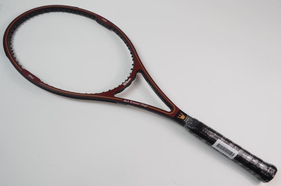 テニス, ラケット  WILSON JacK Kramer Staff(L3)