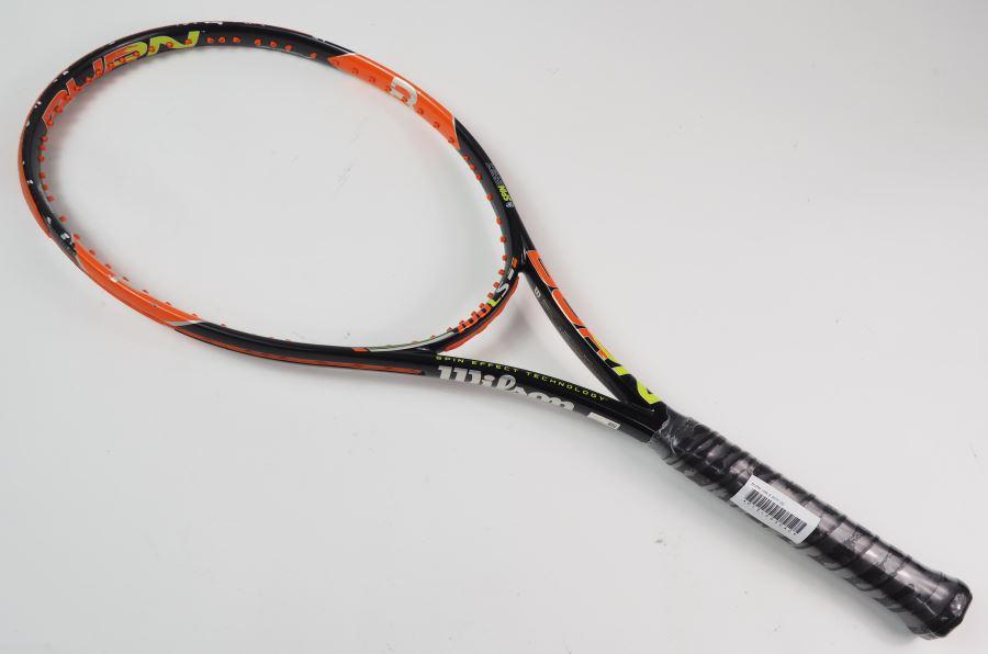 テニス, ラケット  100 2015WILSON BURN 100LS 2015(G2)