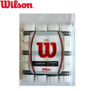 ウィルソンプロオーバーグリップ ホワイト グリップ ラケット ウイルソン ソフトテニス プレゼント