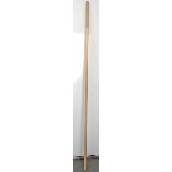 カンフー武具・ 六尺棍棒(バンレイシ科メンピサン製)木製素地