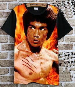 ブルース・リー(李小龍) Tシャツ 黒8