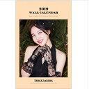 TWICE トゥワイス NAYEON ナヨン 2019年壁掛けカレンダー K-STAR PHOTO WALL CALENDAR 2019