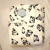 パンダ柄サンゴパイルパジャマ上下セットCTW192-C-7Aホワイト