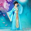 刺繍中華民国風おしゃれチャイナドレス上下セットエレガントライトグリーン