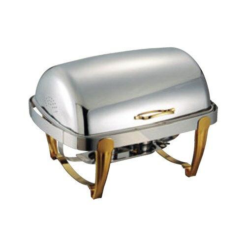 【SX ロールトップチェーファー 角型 無段階開閉式 X32229UQV ダブル】 幅295×奥行240×高さ65(mm)【業務用】【グループA】:厨房器具と店舗用品のTENPOS