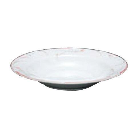 フラワーピンク 23cm スーププレート OFM01-222 高さ32(mm)/業務用/新品 /テンポス