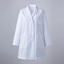 女子シングル診察衣 長袖 白 ao1-81-581/業務用/新品