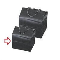 おせち 重箱バッグ 手提げ付バッグ ブラック(小) 6.5寸,7.0寸用 幅240mm×奥行216mm×高さ305mm/業務用/新品/小物送料対象商品