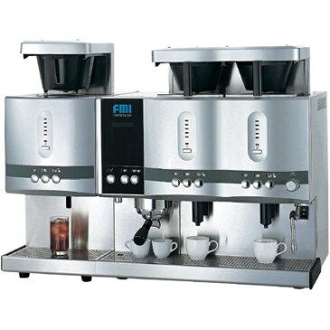【業務用/新品】 FMI コーヒーマシン カフェトロン ドリップ2連アイスユニットドッキングタイプ CT-241+CT-1103C 【送料無料】 /テンポス