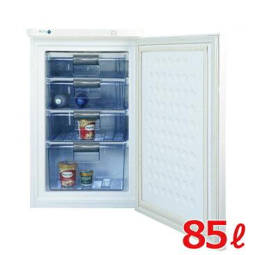 【業務用】冷凍ストッカー 85Lタイプ 冷凍庫 ノーフロスト前開き(アップライト式)FFU85R 幅550×奥行576×高さ848【送料無料】【家庭用】