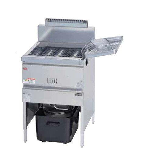 【業務用フライヤー】【マルゼン】ガスフライヤー 23リットル 一槽式【MGF-23K(旧型式:MGF-23J)】【新品】:厨房器具と店舗用品のTENPOS