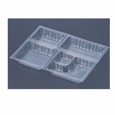 弁当箱 9寸長手透明仕切(2000枚入)Bタイプ用/業務用/新品 /テンポス