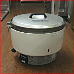 【送料無料】【中古】【業務用】 ガス炊飯器 RR-50S1 幅540×奥行470×高さ430