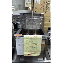 【送料別】【中古】【業務用】 ガスフライヤー NB-TCFL-4045 幅400×奥行450×高さ410  都市ガス