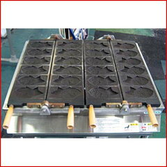 【送料別】【中古】【業務用】 電気式たいやき機 TY-2 幅720×奥行700×高さ850 三相200V