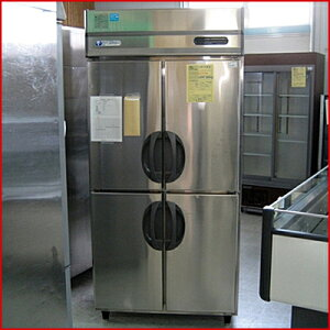 【送料別】【中古】【業務用】 縦型冷凍庫 URN-34FM1 幅900×奥行650×高さ1900 単相100V