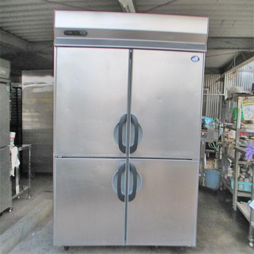 【中古】縦型冷蔵庫 サンヨー SRR-G1281S 幅1200×奥行800×高さ1950  【送料別途見積】【業務用】:厨房器具と店舗用品のTENPOS