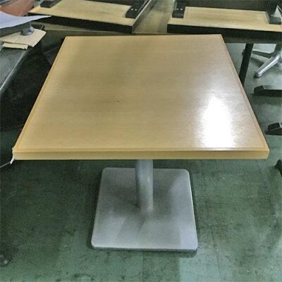 白木木縁洋風テーブル