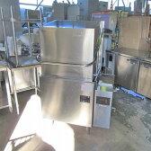 【中古】食器洗浄機 ドアタイプ フジマック FDW60FE 幅946×奥行635×高さ1435 三相200V 50Hz専用 fujimak【業務用】【送料別途見積】