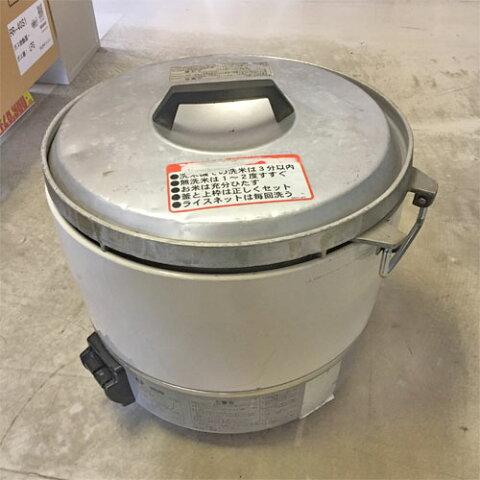 【中古】ガス炊飯器 リンナイ RR-30S1 幅450×奥行421×高さ408 都市ガス 【送料別途見積】【業務用】