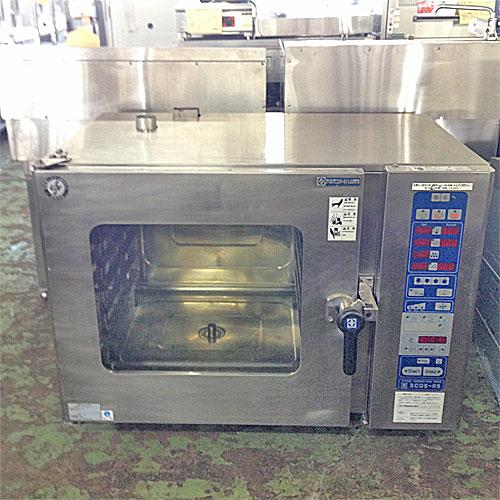 【中古】スチームコンベクションオーブン ニチワ電機 SCOS-10RSSP 幅1030×奥行660×高さ800 三相200V 【送料別途見積】【業務用】【厨房機器】